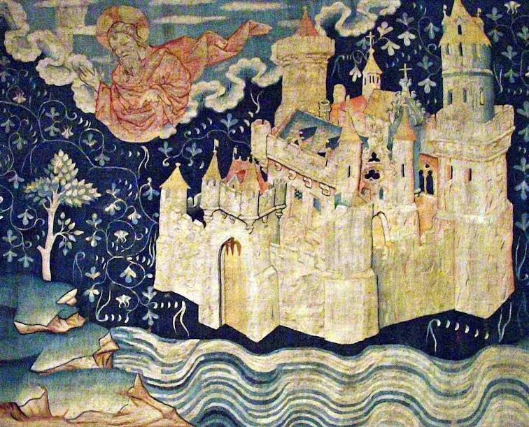 A Jerusalém celeste, Tapeçaria do Apocalipse. Angers