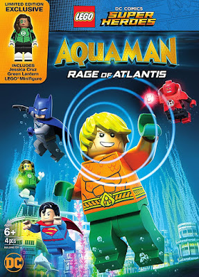 LEGO DC Aquaman Rage Of Atlantis 2018 DVD R1 NTSC Latino