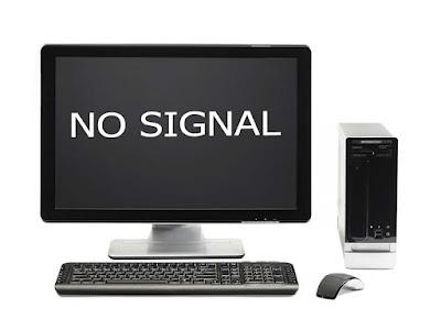 Cara Mengatasi Komputer Hidup Tapi Tidak Tampil Di Layar (No Signal)
