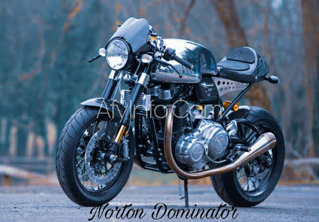 Gambar Motor Norton Dominator