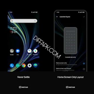 OnePlus Launcher Mod Apk v4.4.7.200522185542.d92c3ec