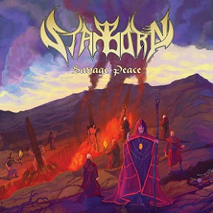 "Το τραγούδι των Starborn ""Inked in Blood"" από το album ""Savage Peace"""