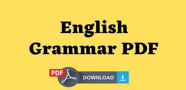 English Grammar PDF Notes