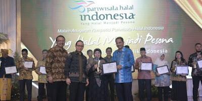 Malam Anugerah Pariwisata Halal Terbaik 2016