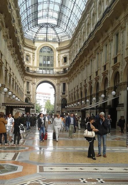 גלרית ויטוריו עמנואל בלב מילאנו