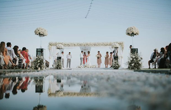 Beachfront Villa Bali Menjadi Venue Pernikahan Terbaik