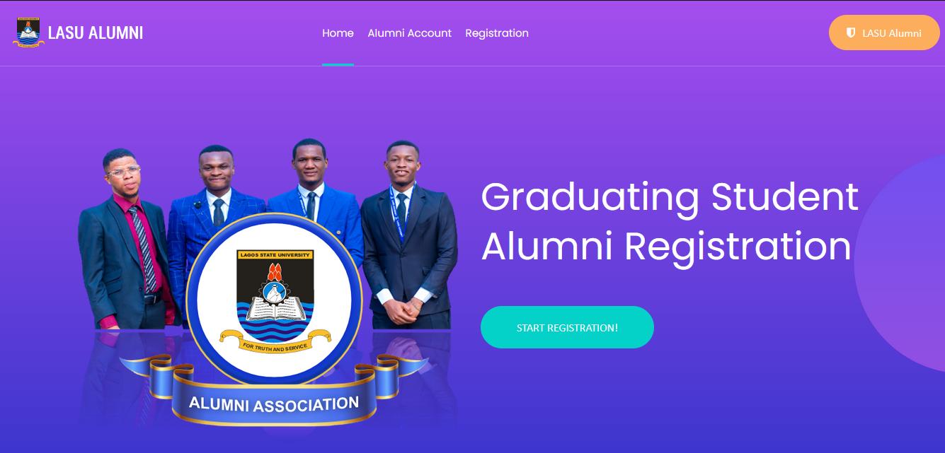 LASU Alumni Registration Guidelines for Graduating Students [PHOTO]