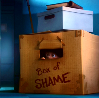 Box of Shame from Despicable Me 2 (c) Universal Pictures 2013