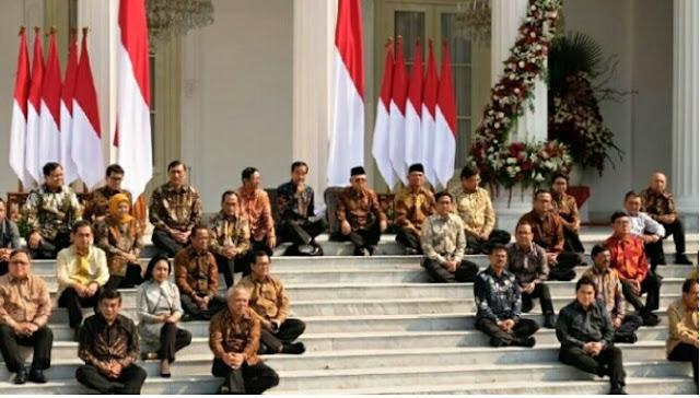 Ini Kabinet Indonesia Maju