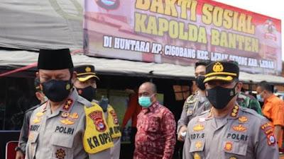 Rumah Personel Polda Banten Bertetangga dengan Warga