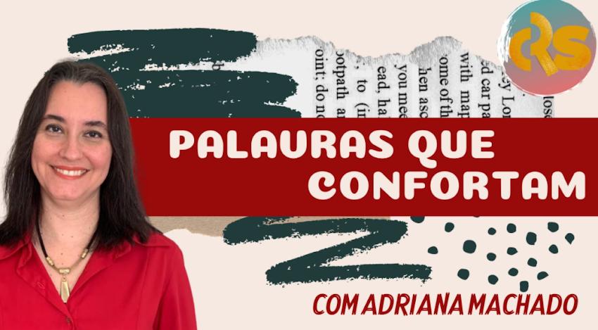 """Meu mais novo cantinho """"Palavras que Confortam"""" no Canal do YouTube do Rossano Sobrinho"""