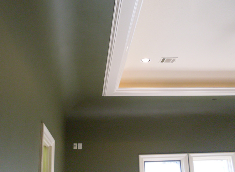 Patrick J. Baglino, Jr. Interior Design: The Cove Ceiling.
