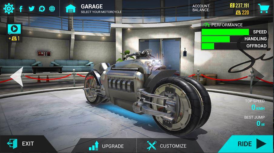 Download Ultimate motorcycle simulator MOD APK 2