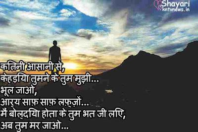 Heart Touching | Sad Shayari in Hindi | Bhool Jao