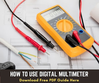 how to use digital multimeter pdf