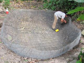 Reserva natural victoria preparando la pesca for Peces que se cultivan en estanques en panama