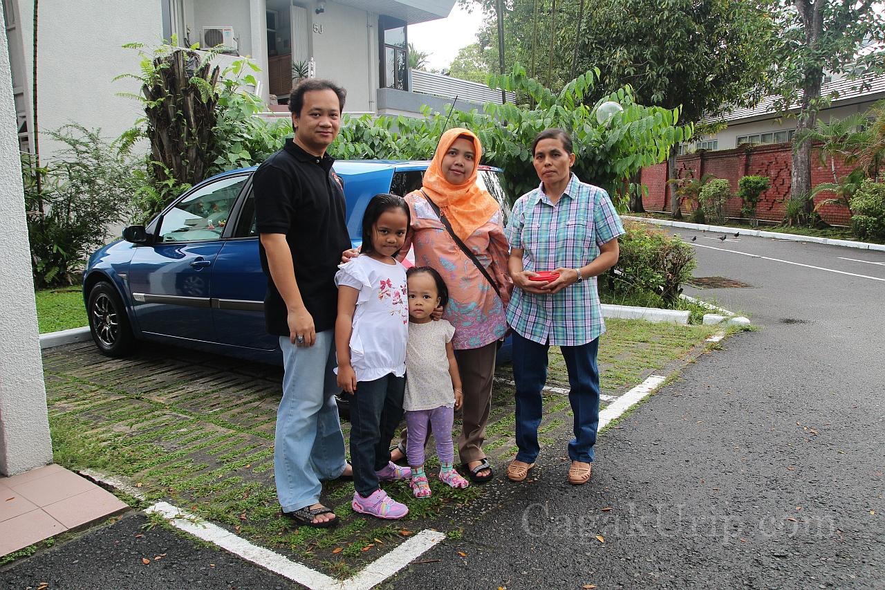 Foto bersama si biru Renault Megane