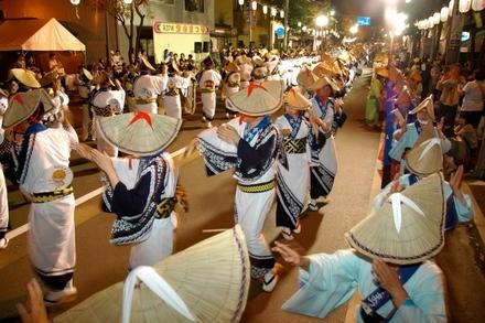 Bunsui Matsuri (summer festival), Tsubame City, Niigata Pref.