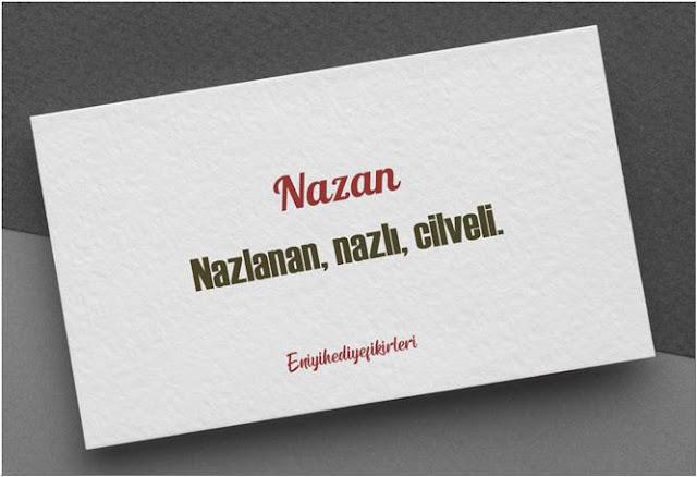N harfli kız isimleri