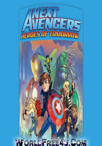 Poster Of Next Avengers Heroes of Tomorrow (2008) Full Movie Hindi Dubbed Free Download Watch Online At worldfree4u.com