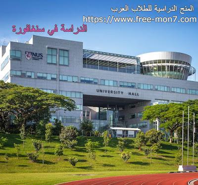 منحة جامعة NUS ممولة بالكامل لدراسة التخصصات العلمية بسنغافورة