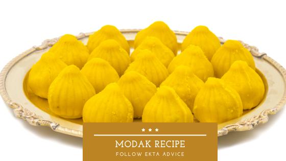 Modak recipe in English