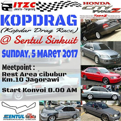 ITZC Sentul Drag Race 2017
