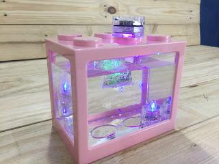 Lego Brick Shape Aquarium Tanks 6