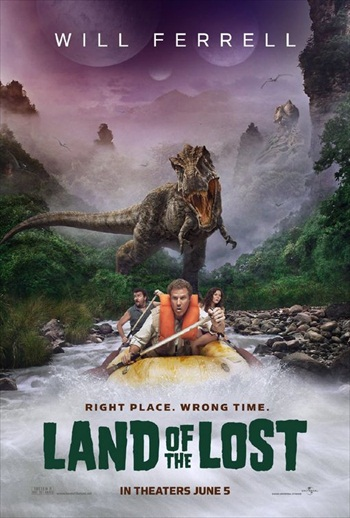 Land of the Lost 2009 Dual Audio Hindi 720p BluRay 850mb