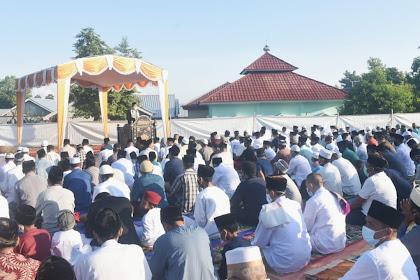 Momentum Idul Fitri, Bupati Lombok Utara Mengajak Kompak Bersatu
