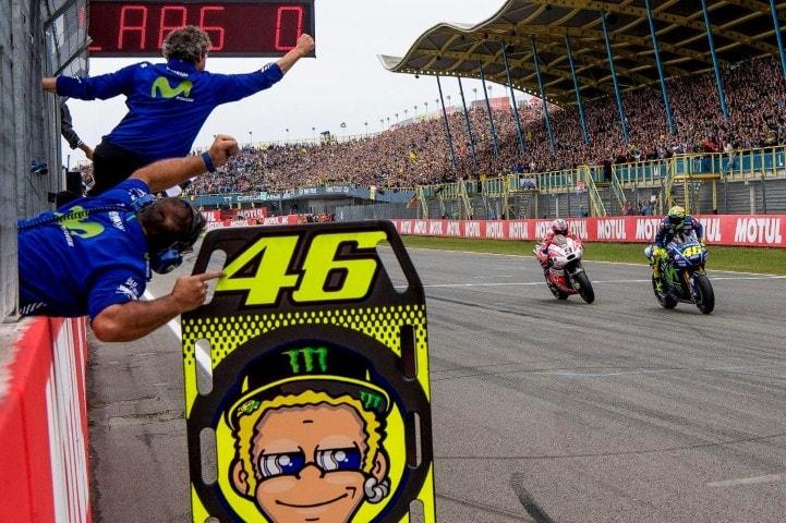 MotoGP 2017 : Finish pertama di Assen, Rossi merasa motornya jauh lebih baik setelah mengganti sasis M1 dengan versi 2016