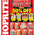 #BigRedFriday: Eastern Cape Shoprite Big Red Friday Is Back 50% off Special 07 September 2018