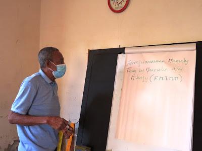 Formation des Maîtres alphabétiseurs pour la conduite du nouveau cycle d'alphabétisation