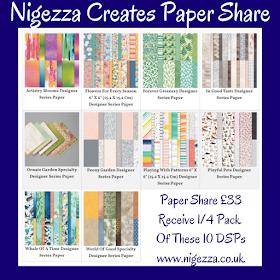 Nigezza Creates ew Stampin' Up! Catalogue Paper Share