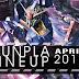 GunPla Lineup April 2017