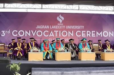 Adieu class of 2017: Convocation ceremony at Jagran Lakecity University