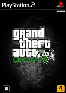 GRAND THEFT AUTO V LEGACY PS2 (MOD) BAIXAR