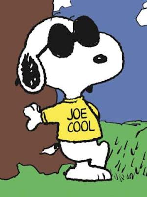 Snoopy nei panni di Joe Cool (o in Italia Joe Falchetto)