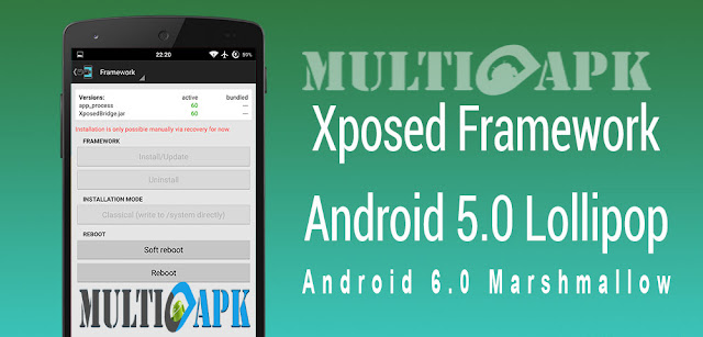 Xposed for OS Lollipop/Marshmallow