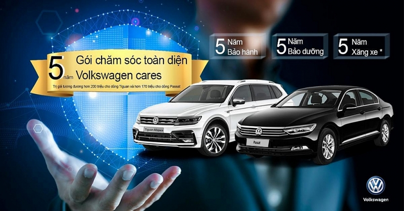 Volkswagen Việt Nam tung Gói chăm sóc xe toàn diện trong 5 năm