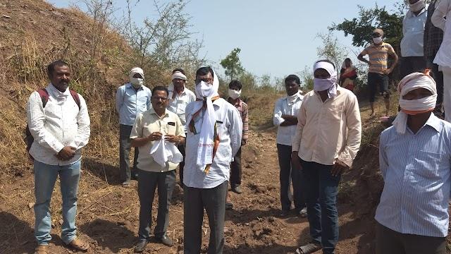 नारंडा येथील शेतकर्यांच्या पांदन रस्त्याची समस्या मार्गी लागणार