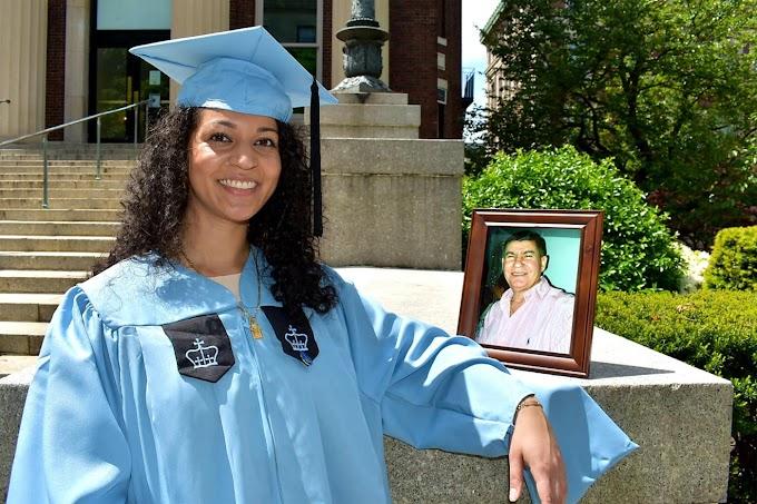Graduada dominicana dedica diploma de maestría en salud pública a su padre muerto por coronavirus