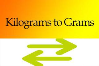 Kilograms to Grams