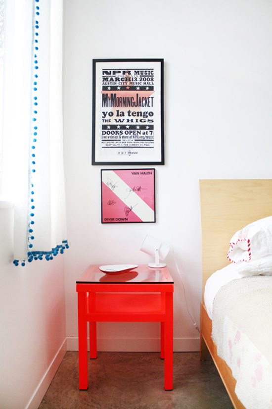 Creative bedside table  ©Adrienne Nicole Breaux