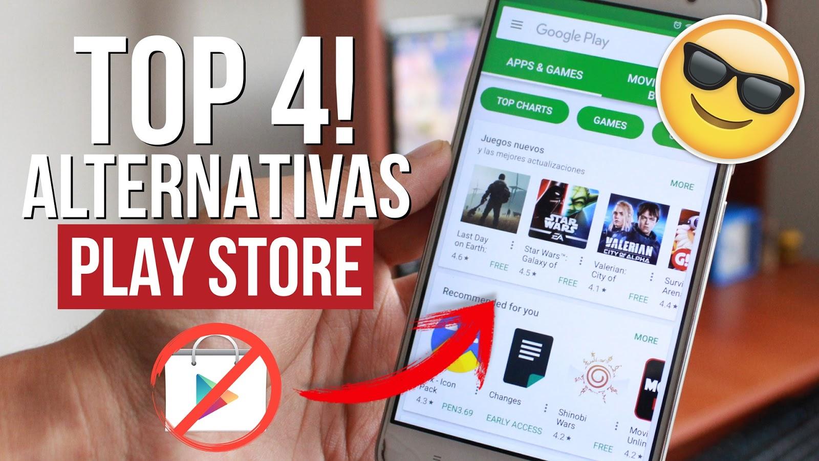 4 Mejores Alternativas A Play Store En Tu Android Apps Y Juegos
