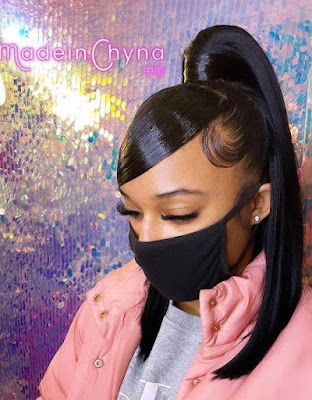 Weave ponytail hairstyles for black hair
