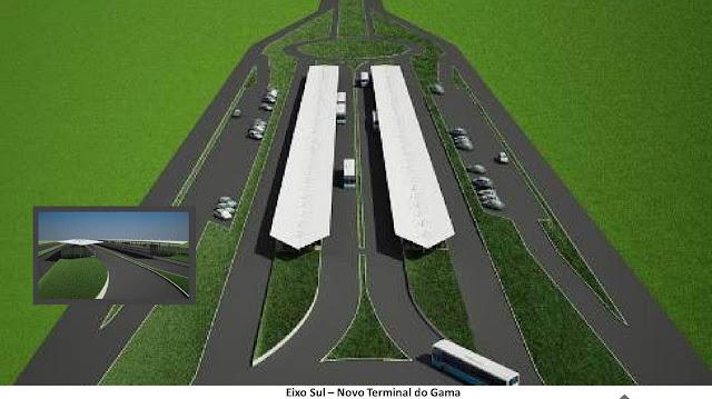 Novo terminal de passageiros do Gama que usarão o VLP