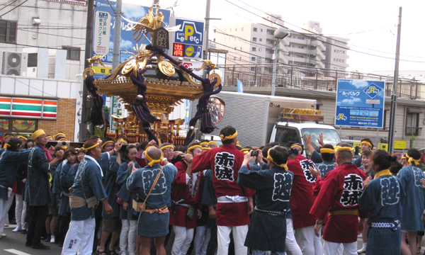 Akagi-jinja Reitai-sai, Akagi-jinja Shrine and others, Shijuku-ku, Tokyo