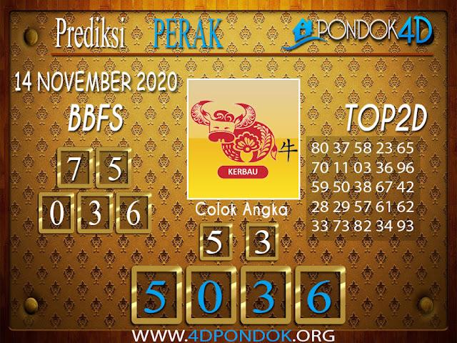 Prediksi Togel PERAK PONDOK4D 14 NOVEMBER 2020