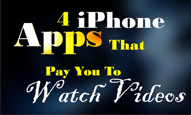 4 iPhone Apps That Pay You To Watch Videos
